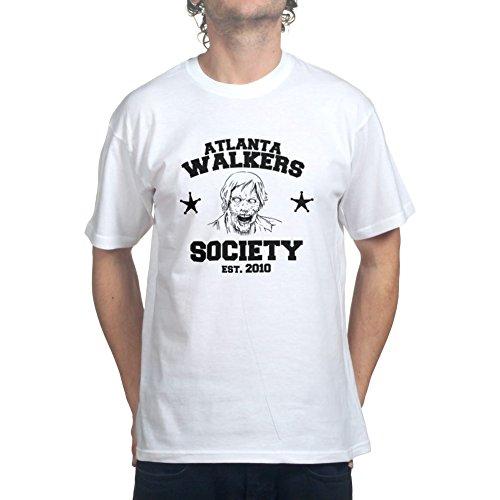 Atlanta Walkers Dead Walking Zombies T-shirt White M