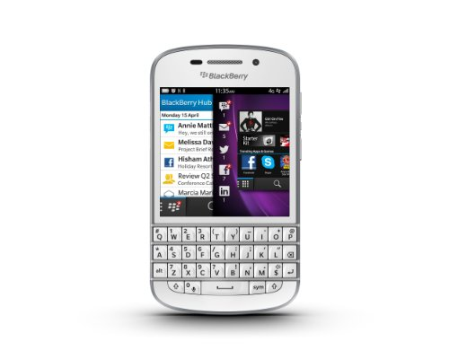 BlackBerry Q10 Sim Free Smartphone - White Black Friday & Cyber Monday 2014