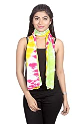 Dream Fashion Viscose Tie Dyed scarf For Women's