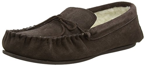 snugrugs-mens-lambswool-moccasin-slippers-with-rubber-sole-dark-brown-10-uk-44-1-2-eu