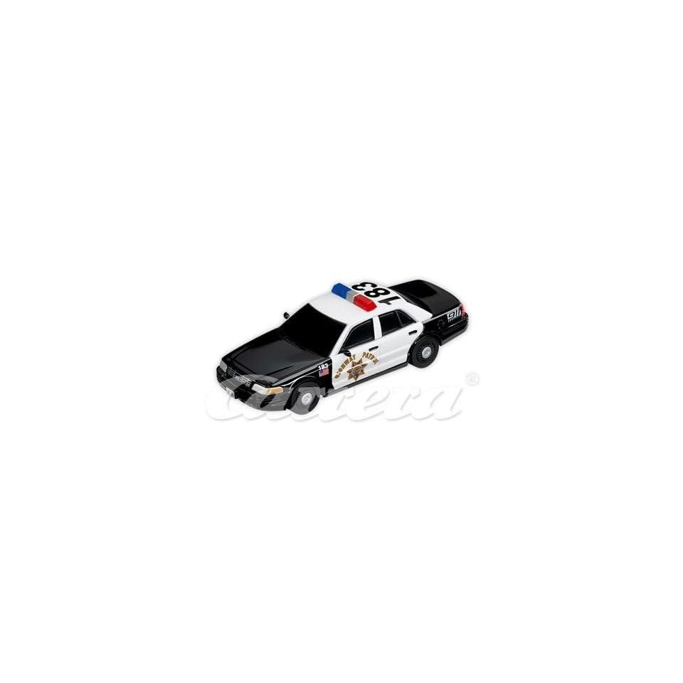 Go Ford Crown Victoria Police Interceptor Highway Patrol Slot Car