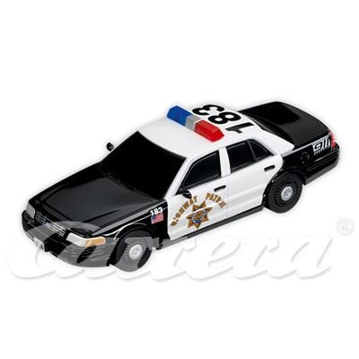 Carrera Ford Crown Victoria Police Interceptor Highway Patrol Slot Car