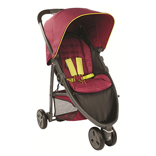graco-evo-mini-stroller-pushchair-berry