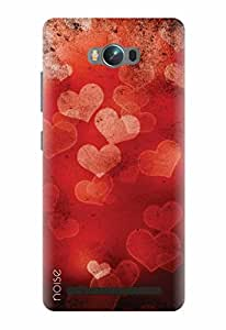 Noise Printed Back Cover for Asus Zenfone Max Zc550Kl (VD-33)
