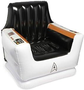 ThinkGeek - Star Trek Inflatable Captain's Chair