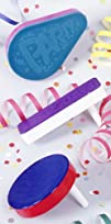 Racket Raise 8216N Noisemakers Assorted 8 count Party Accessory
