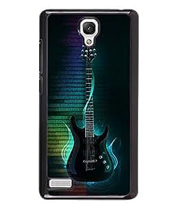 Printvisa 2D Printed Music Designer back case cover for Xiaomi Redmi Note 4 / 4G - D4547