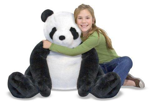 Melissa & Doug Huggable And Lovable Giant Plush Panda Toy, Kids, Play, Children