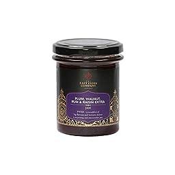 East India Company Plum, Walnut, Rum & Raisin Extra Jam (227g)