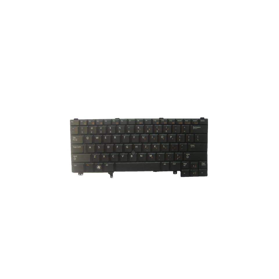 LotFancy Black Non backlit keyboard for Dell Latitude NSK DV0UC PK130FN1A00 Laptop / Notebook US Layout