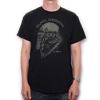 Black Sabbath T Shirt - US Tour 78 Helmet Design 100% Official