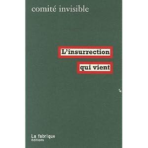 L'insurrection qui vient du Comité invisible 414nKQuEoCL._SL500_AA300_