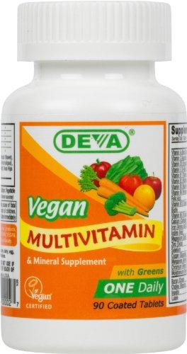 Christmas Deva Vegan Vitamins Daily Multivitamin & Mineral Supplement  90 tablets (Pack of 2) Deals