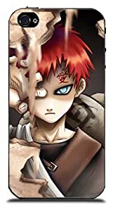 Trumall Naruto Gaara Cases Covers for iPhone 4 4S