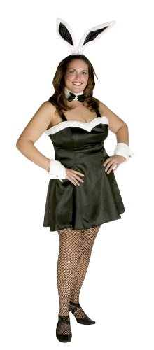 Plus Size Cocktail Bunny Costume