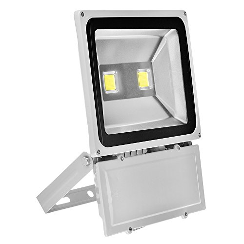 M&MP® 100W LED Flood Lights Warm White Outdoor Daylight White Security Light, Waterproof Floodlight Lamp Halogen Bulb Equivalent (100w Led Flood Light compare prices)