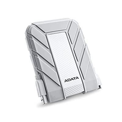 ADATA USA Waterproof/ Dustproof/ Shock-Resistant USB 3.0 External Hard Drive (AHD710A-2TU3-CWH)