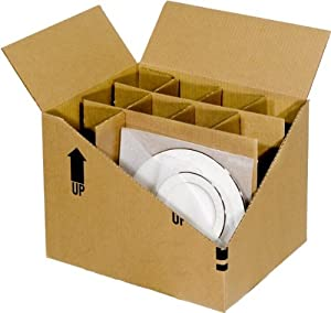 Amazon Com Ecobox China Dish Packing Partition Kit 2