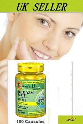 Wild Yam 405 mg x100 menopause pain relief