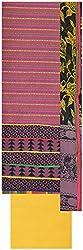 Laxmi Creations Women's Silk Unstitched Dress Material (Magenta)
