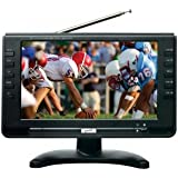 SuperSonic SC499 9 LCD Portable Digital TV with ATSC/NTSC Tuner and AC/DC Power (1 Each)