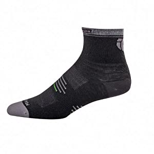 Pearl Izumi Men's Elite Wool Sock - Black, Medium