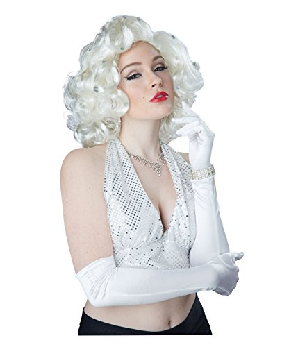 Glitz and Glamour Blonde Marylin Monroe Hairstyle Wig