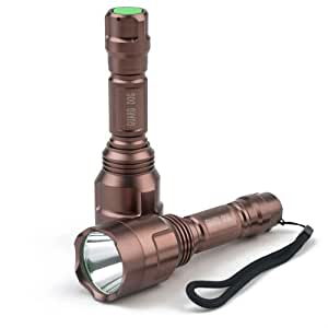 Guard Dog Orion 400 Lumen Rechargeable Tactical Flashlight
