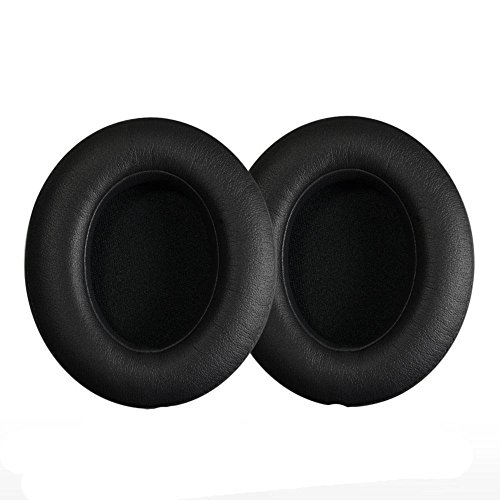Ear Pads Replacement Earpads Ear Pad / Ear Cushion / Ear Cups / Ear Cover for beats by Dr. Dre Studio 2.0 Wired,Studio 2.0 Wireless Over-Ear Headphones (Black) (Beats Studio 2 Ear Cups compare prices)