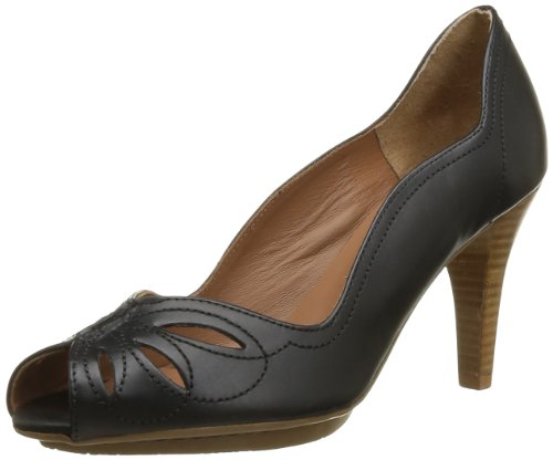 Pastelle Women's Gloria Court Shoes Black black 6.5 (40 EU)