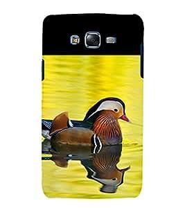 printtech Nature Bird Duck Back Case Cover for Samsung Galaxy A7 / Samsung Galaxy A7 A700F