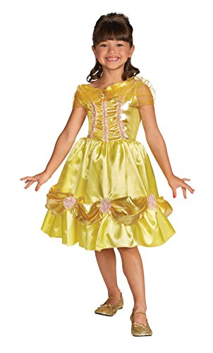 baby-girls - Belle Sparkle Toddler Costume Classic 3T-4T Halloween