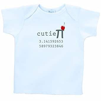 26 Degrees Forward Blue Organic Cotton Cutie Pi Toddler Tee, 2T