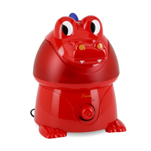Crane Adorable Ultrasonic Cool Mist Humidifier with 2.1 Gallon Output per Day – Dragon
