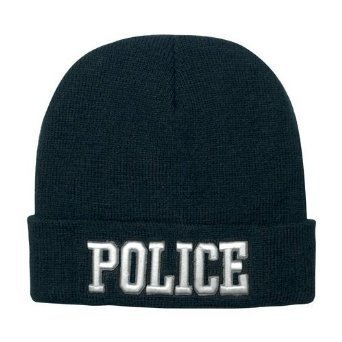 Rothco Deluxe Embroidered Watch Cap, Police