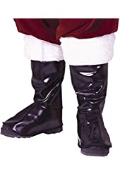 Adult Deluxe Santa Boot Tops