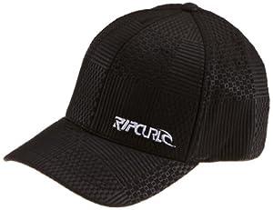 Rip Curl Herren Caps Rip Vert Curve Peak Cap, black, L/XL, CCAXAJ_90_L/XL