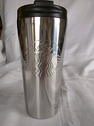 Starbucks Stainless Steel Embossed Siren High Shine 16 oz Tumbler