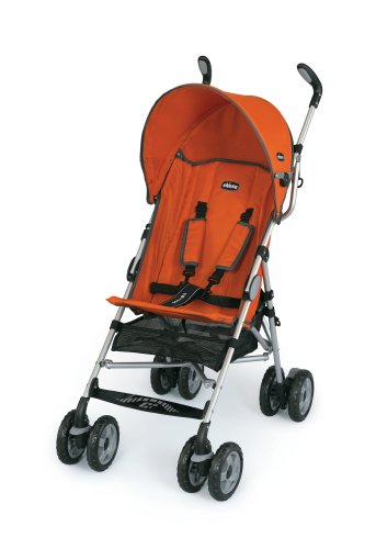 Chicco Ct0.6 Capri Lightweight Stroller, Tangerine
