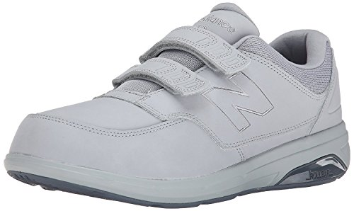 New Balance Men's MW813H Walking Shoe,Silver Mink/Lead,US 12.5 2E (New Balance Walking Shoes Velcro compare prices)