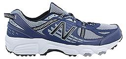 Men\'s New Balance, 410v4 Trail Running Shoes GREY BLUE 11 D
