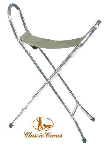 Aluminium Folding Walking Seat - Wide  &  Medium