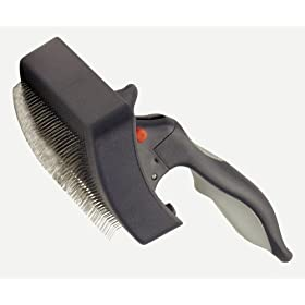 Evolution Self-Cleaning Slicker Brush for Dogs