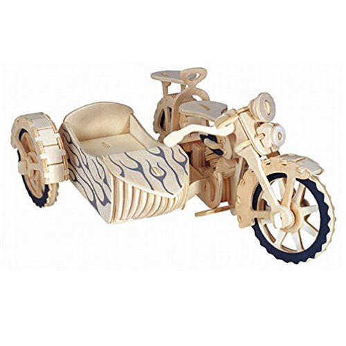 Motocyle/Cyclecar 3D Model Puzzle - 1