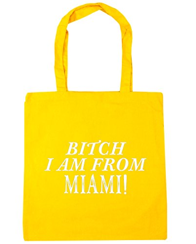 hippowarehouse-bitch-i-am-from-miami-tote-shopping-gym-beach-bag-42cm-x38cm-10-litres