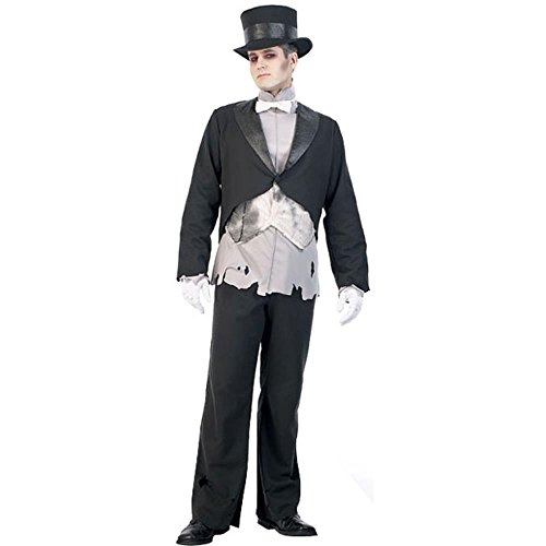 Adult's Ghost Groom Costume (Size: Medium 40-42)