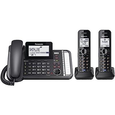 Panasonic KX-TG9581B Link2Cell DECT_6.0 1-Handset 3-Line Digital Cordless Phone