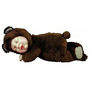 Anne Geddes Bean Filled Collection Bear 9 Doll by Anne Geddes