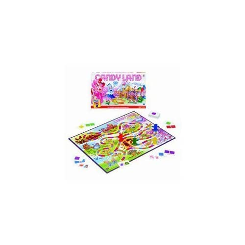 Candy Land – The World of Sweets Board Game by GENERAL SALES INC – HASBRO GAMES online bestellen