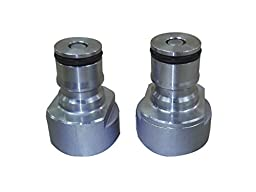 NY Brew Supply Sankey (D or S) to Ball Lock Conversion Connectors - One Piece Design